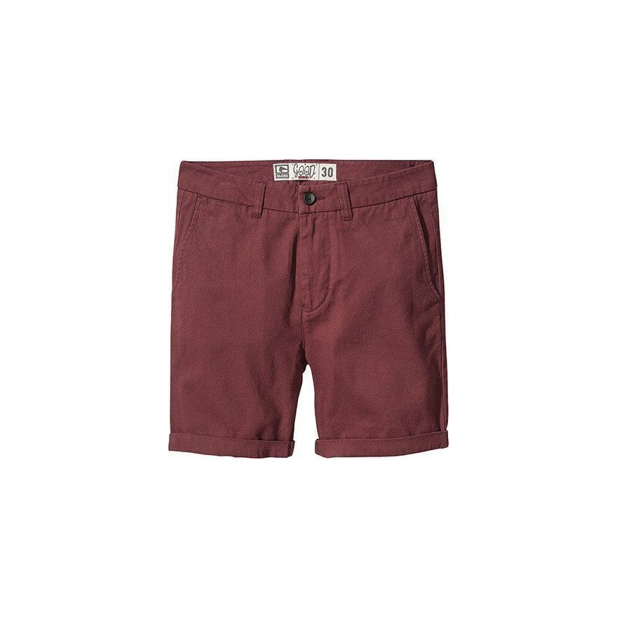 Pantaloni Scurti Barbati Globe Goodstock Chino - Oxblood