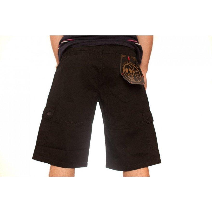 Pantaloni Scurti Barbati Alien Workshop Tactical - Black
