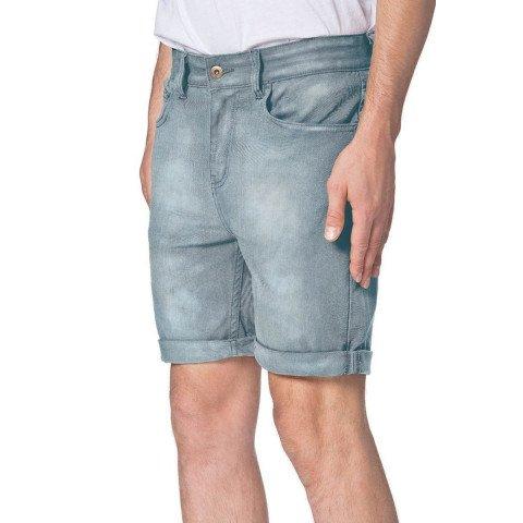 Pantaloni Scurti Barbati Globe Goodstock Denim - Garage Wash