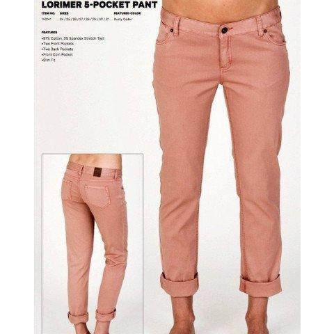 Pantaloni Dama Burton Lorimer - Dusty Cedar