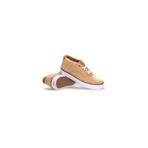 Shoes Globe Sprout Mid - Dark Caramel/White