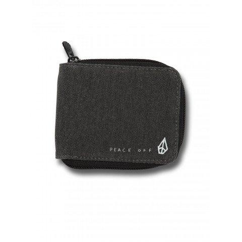 Portofel Volcom Full Zip - Asphalt Black