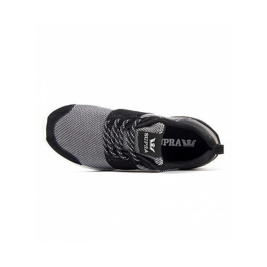 Sneakers Supra Scissor - Black/White