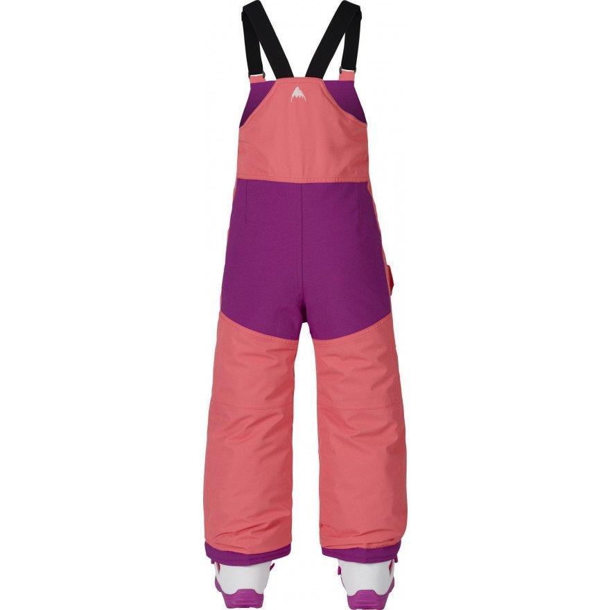 Pantaloni Snowboard Burton Minishred Maven Bib - Peach