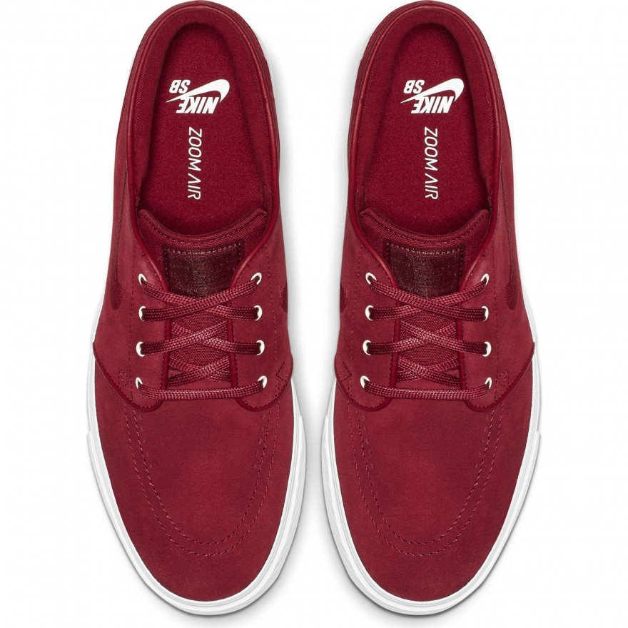 Shoes Nike Janoski Leather - Team Crimson